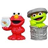 Playskool Sesame Street Figures 2-Pack - Oscar and Elmo