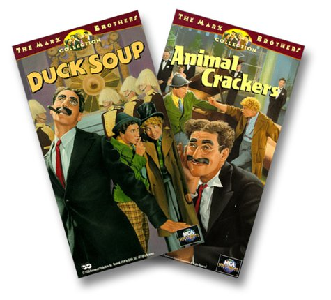Animal Crackers/Duck Soup [VHS] (Marx Brothers Duck Soup compare prices)