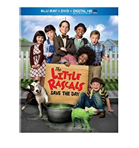 The Little Rascals Save the Day (Blu-ray + DVD + DIGITAL HD with UltraViolet)