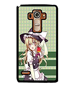 Fuson 2D Printed Girly Designer back case cover for LG G4 STYLUS - D4376