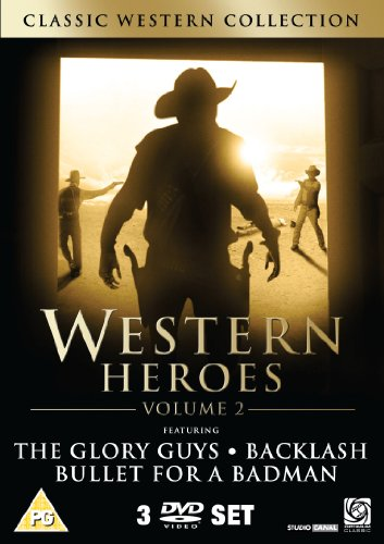Western DVD Box Set 2 (Bullet For A Badman/Glory Guns/Backlash)