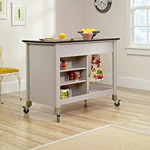 Sauder Original Cottage Mobile Kitchen Island in