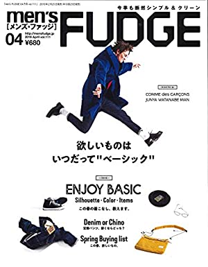 men's FUDGE 2019年 4月号 Vol.111