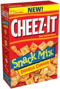 Cheez-It Snack Mix, Double Cheese, 9.75-Ounce Boxes (Pack of 3)
