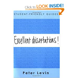 Image: Cover of Excellent Dissertations! (Student-Friendly Guides series)