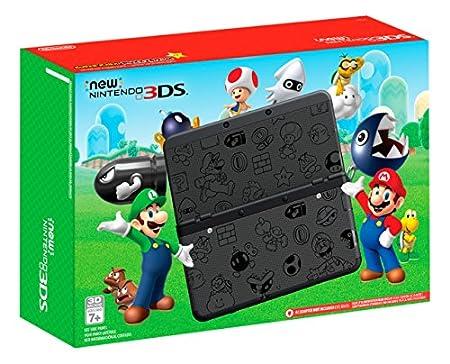 Nintendo New Nintendo 3DS Super Mario Black Edition - Nintendo 3DS