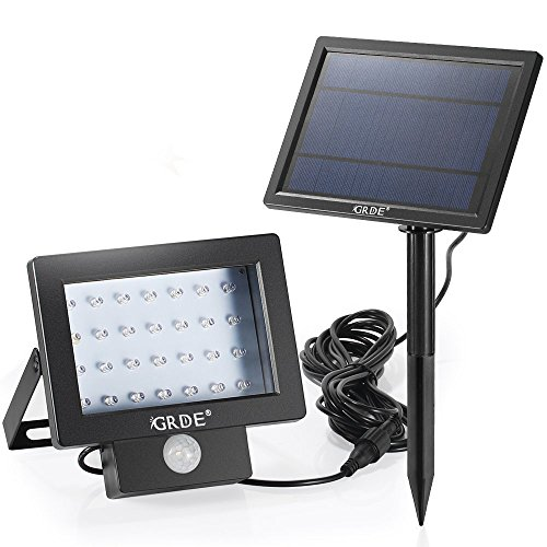 28LED Solar Lights Outdoor Solar Panels Motion Sensor Floodlight PIR Security Night Light 4 Models Waterproof Landscape Spotlights Wall Mount Light for Garden Yard Lawn Pond (Nightlight Panel compare prices)