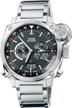 Oris BC4 Flight Timer Automatic Mens Watch 690-7615-4154MB