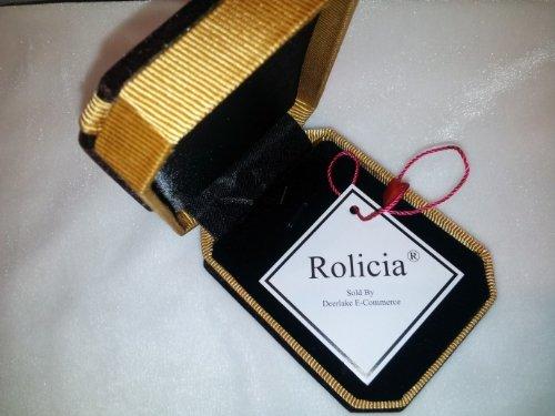 Rolicia oro plateado plata Pendientes de cristal austriaco circón Made with Swarovski Elements para las mujeres y las niñas como un regalo especial