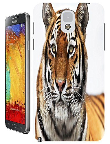 Tiger Case Cover Hard Back Cases Beautiful Nice Cute Animal Hot Selling Cell Phone Cases For Samsung Galaxy Note 3 # 10 front-21342
