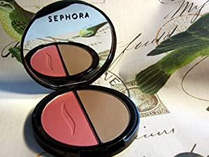 SEPHORA COLLECTION Silk Blush Bronzer Duo Sunset Dance / Dance In The Lights 2 x 0.21 oz