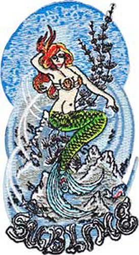 Application Sublime Mermaid Patch