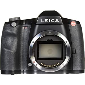 "Leica S (Typ 007) Medium Format DSLR Camera, 37.5MP, 3.0"" LCD Display, 0.87x Optical Viewfinder, 4K Video at 24 fps, Built-in Wi-Fi and GPS"