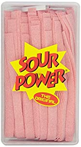 Sour Power Candy Belts, Pink Lemonade, 42.3 Ounce