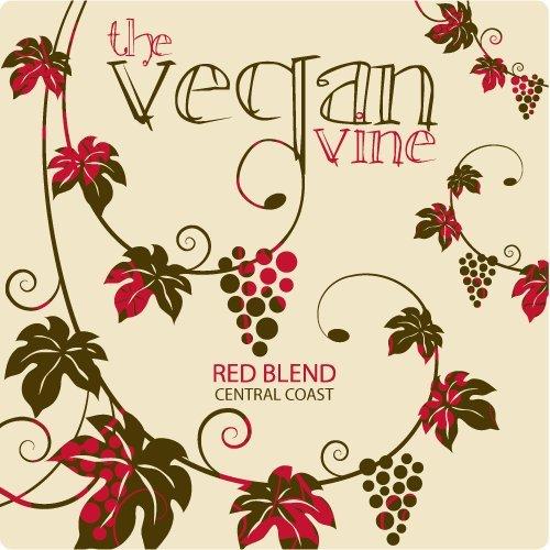 2012 The Vegan Vine Red Blend San Martin Central Coast 750 Ml