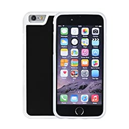 Self Sticky Case,I3C Anti Gravity Self Sticky Case for iPhone 6/6S (White)