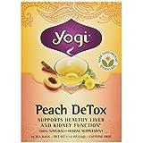Yogi Organic Peach Detox Tea, 16 ct (Tamaño: 16 ct)