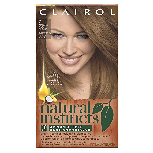 Clairol Natural Instincts, 7 / 9N Coastal Dune Dark Blonde, Semi-Permanent Hair Color, 1 Kit (Pack of 3) (Semi Hair Dye Blonde compare prices)