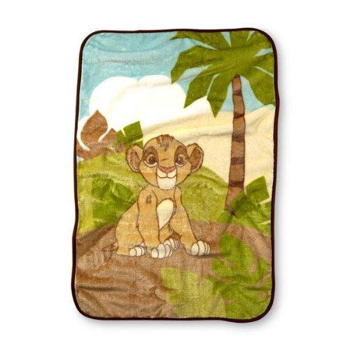 "Disney Baby Infant's Lion King Blanket - 30 x 45"" - 1"