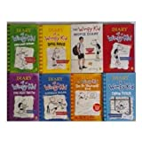 Diary of a Wimpy kid collection 8 Books set. 7 book paperback +1 hardback(Jeff Kinney series collection) (Dairy of wimpy kid, Rodrick Rules, the last Straw, Do-It-Yourself book, dog days, the ugly truth,Movie Diary [Paperback]+ Cabin Fever [Hardback]