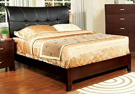 WelcomeiHome .INC Special Price: Midland II Brown Cherry Finish Full Size Bed Frame at Sears.com