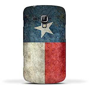FUNKYLICIOUS Galaxy S Duos 2 S7582 Back Cover Texas State Flag Retro vintage Design (Multicolour)