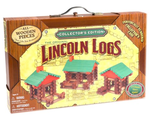 Lincoln Logs Pics. Lincoln Logs Wooden Case