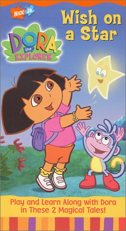 Dora the Explorer - Wish on a Star [VHS] - 1