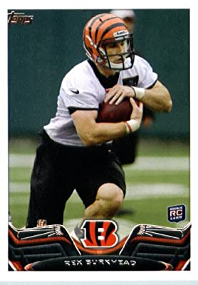 2013 Topps Football Card #147 Rex Burkhead RC - Cincinnati Bengals (RC - Rookie Card) NFL Trading Cards