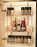 Rev-A-Shelf in. Adjustable Door Mount Spice Rack RS4ASR.21 16.13