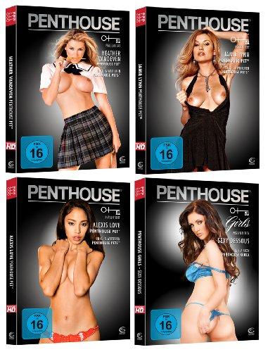 PENTHOUSE Super Set 2 (4 DVDs mit sexy PENTHOUSE Pets)