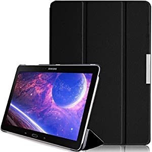 Aerb® X Pro Series Samsung Galaxy Note Pro 12.2 Leather Case Cover Stand W Sleep Wake Function (for Galaxy Note Pro 12.2, Black Style B)