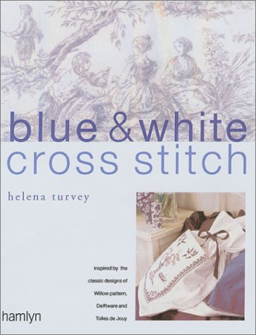 Cross-Stitch in Blue & White