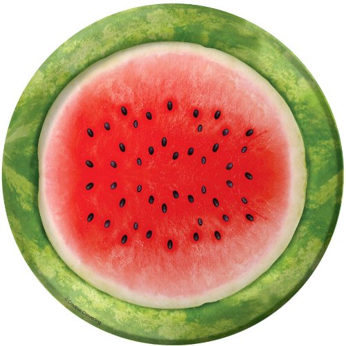 Juicy Watermelon Dessert Plates - 1