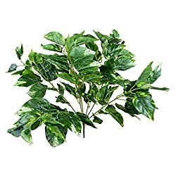 Thefancymart Artificial leafs bush_ single Bunch Style Code-89
