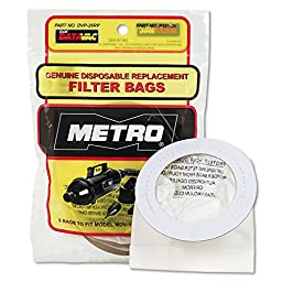 Replacement Bags for Handheld Steel Vacuum/Blower, 5/Pack, Sold as 1 Package