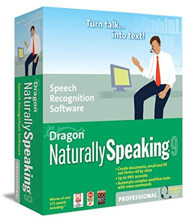 Dragon NaturallySpeaking 9 Professional