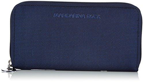 Mandarina Duck MD20 FROST 14216PN1, Portafogli Donna, Blu (Blau (Blue)), 2x11x21 cm (L x A x P)