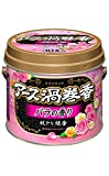 アース製薬 アース渦巻香 バラの香り 30巻缶入