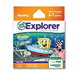 LeapFrog Explorer Learning Game: SpongeBob SquarePants: The Clam Prix (works with LeapPad & Leapster Explorer) Toy/Game/Play Child/Kid/Children