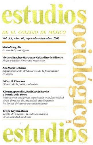 Estudios Sociologicos