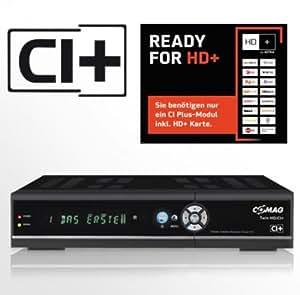 COMAG TWIN HD/CI+ digitaler Satelliten Receiver Twin-Tuner HDTV mit 500 GB Festplatte (CI+, HDMI, USB 2.0, PVRready, 1080p (Senderabhängig)) schwarz