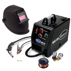 Eastwood MIG Welder 110VAC 135 amp Output Welding & Auto Darkening Helmet Kit from Eastwood