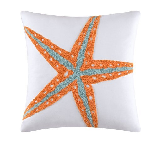 C-F-Enterprises-Fiesta-Key-Starfish-Square-Pillow
