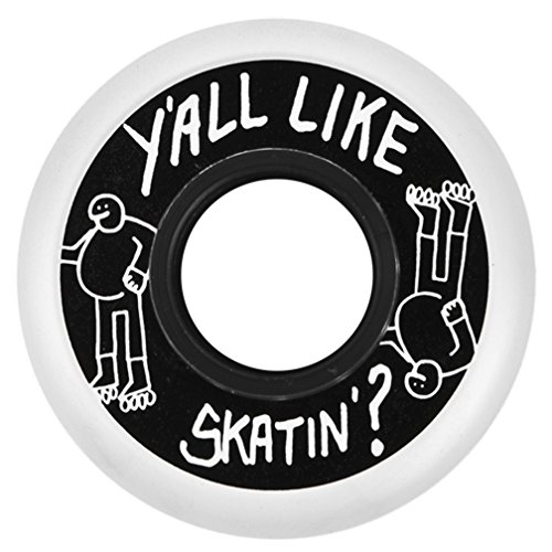 """Y'all Like Skating"" Aggressive Skate Wheel (Set of 4)"