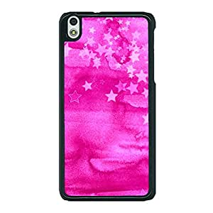 Jugaaduu Star Morning Pattern Back Cover Case For HTC Desire 816G