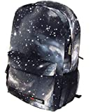 Myheartgoon Galaxy Pattern Unisex Travel Backpack Leisure Bags School Bag(17.3