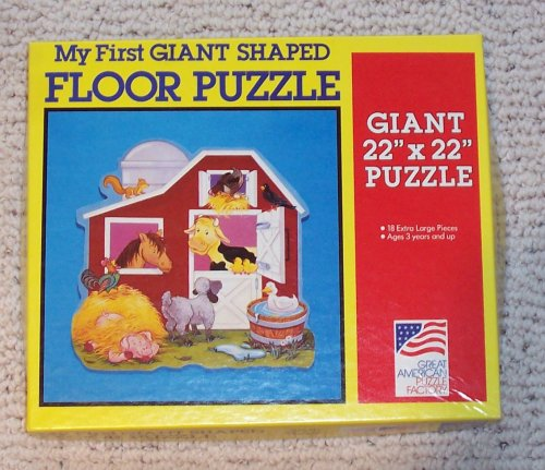 Picture of Great American My First Giant Shaped Floor Puzzle (B002864X1Q) (Floor Puzzles)