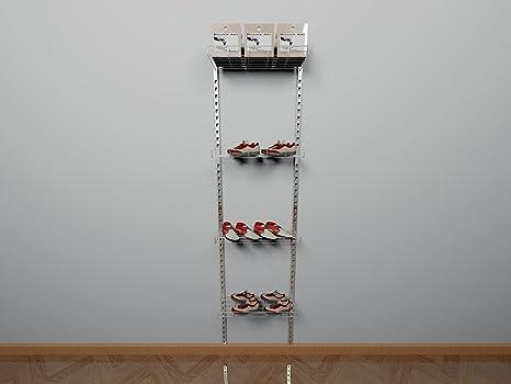 Cabina Muebles Armario Tiendas de zapatos zapatero montado en la pared Guantes