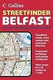 echange, troc Collins UK - Belfast Streetfinder Colour : 1/15 000